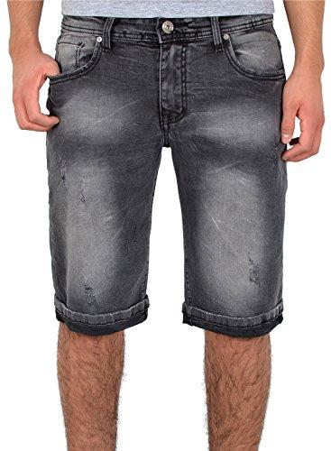 by-tex Herren Jeans Shorts Herren kurze Hosen Herren kurze Jeans Hose Bermuda Shorts Sommer Hose A406