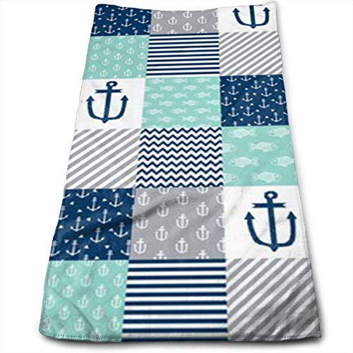 DAICHAI Railroad Baby Nautical Cool Towel Beach Towel Instant Cool Ice Towel Gym Quick Dry Towel Microfibre Towel Cooling Sports Towel for Golf Swimming Yago Football Beach Garden Holiday