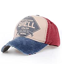 Distressed Vintage Trucker Cap Gas Station blau