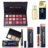 18#02 I GOT YOU Set: Beauty Glazed Eyeshadow Palettes Waterproof Eye Shadow Powder Make Up Palette Shimmers Mattes Highlighter Powder Lip Gloss Lipsick Set (18#02 I GOT YOU Set)