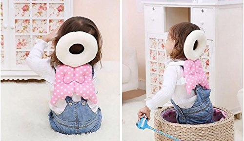 Cute Angel Baby Helmet Infant Toddler Walking Safty Head Protection Blue