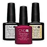 CND Original CND Shellac Tinted Love Farblack plus CND Shellac Base plus Top Coat - 7.3 ml, 1er Pack (1 x 22 ml)