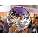 Kugels Boules de verre transparente sans stries, qualité photographique - 110 mm