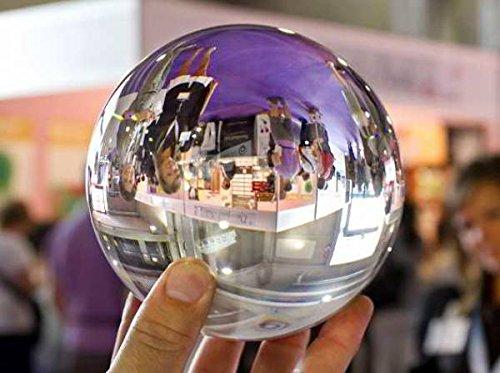 Kugels Boules de verre transparente sans stries, qualité photographique - 40 mm