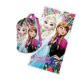 Karactermanía set con materassino con telo stampato Frozen, cotone, multicolore, 30x 35x 5cm