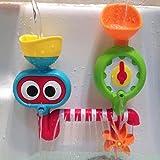 XISHU Jouet de pulvérisation d'eau Bath Play Water Tap Sprinker Toy Une baignoire Douche Salle de bains , picture color