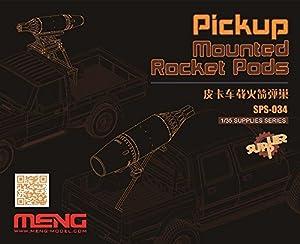 MENG sps-034Pastilla de Rocket Pods Resina Kit de plástico Modelo