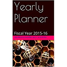 Yearly Planner: Fiscal Year 2015-16 (Office Planner)