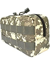 Tradico® Utility Tactical Waist Pack Pouch Military Camping Hiking Belt Bag ACU Camo