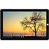 'Chuwi Hi10plus tablette pC de 10.8Dual OS Android 5.1, windows10,4gb RAM + 64gb rom, HD 1920x 1280Résolution Quad-Core 1,44GHz, WiFi, Type-C, Dual Caméra 2.0MP, couleur noir