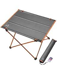 Terra Hiker Table de Camping Pliante Très Légère et Compact au Rangement, 30 Secondes Pour La Monter Ultra Rapide, Portable et Nomade