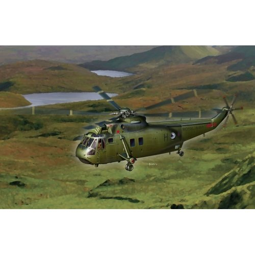 Dragon 500725073 - 1:72 Westland WS-61 Sea King HC.4, Flugzeug -
