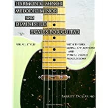 [(Harmonic Minor, Melodic Minor, and Diminished Scales for Guitar )] [Author: Barrett Tagliarino] [Oct-2012]