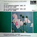 Klavierkonzert Nr.17 G-Dur KV 453 & Klavierkonzert Nr.27 G-Dur KV 595 [Vinyl LP]