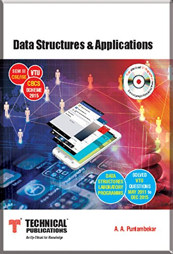 Data Structures & Applications for VTU ( Sem-III CSE / ISE CBCS...