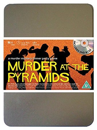 �Player Murder Mystery Dinner Party Game (Computer-spiel Fancy Dress)