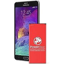 PowerBear® Note 4 Batería [3220 MAh] Batería de Repuesto Li-Ion para Samsung Galaxy Note 4 [N910, N910C, N910F, N910FQ, N910U LTE] Batería de Repuesto para Note 4 [24 Meses de Garantía]