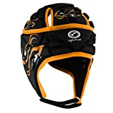 OPTIMUM Inferno Casque Homme, Noir/Orange, Taille S