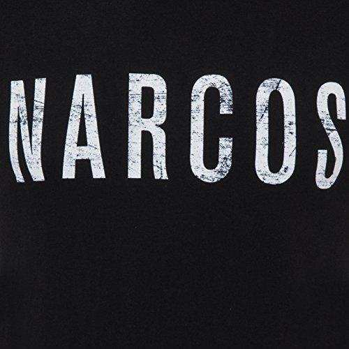 Narcos Pablo Escobar - Herren T-Shirt - Offizielles Merchandise Schwarz Logo