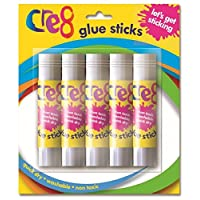 Pack of 5 Art & Craft Glue Sticks.