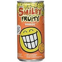 SMILEY FRUITY Packs de 12 Canette Orange 200 ml