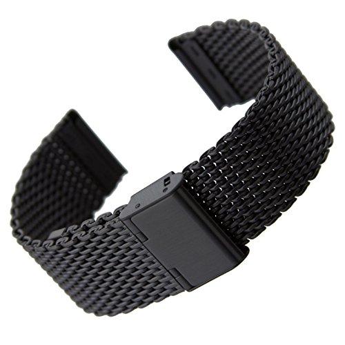 cinturino-orologio-geckotar-acciaio-inossidabile-maglia-milanese-ip-pvd-nero-22mm