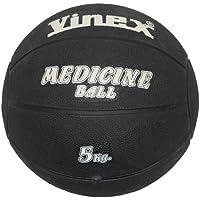 Boje Sport - Balón medicinal (caucho, 5 kg), color negro