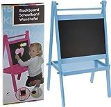 Doppelte Kindertafel - Maltafel - Standtafel - Kindertafel mit Ablagefläche - Rosa od. Blau (Rosa)