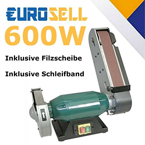 Profi Bandschleifmaschine Schleifgerät Bandschleifer Messerschleifmaschine NEU
