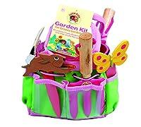 Kit di strumenti di giardinaggio per bambini - rosa The Little Pals Funky giardinaggio insieme degli strumenti è il Kit di strumenti di giardinaggio per bambini! Contenente un secchiello rosa, forcella e cazzuola, marcatori di seme, giardinag...