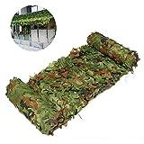 Qjifangzyp Tenda da Sole Panno Oxford Protezione Solare Rete Ombra Rete Foresta Pioggia Rete Coperta di Copertura Esercito Nascosto Caccia Decorazione Esterna Bambini Campo Militare Fotografia