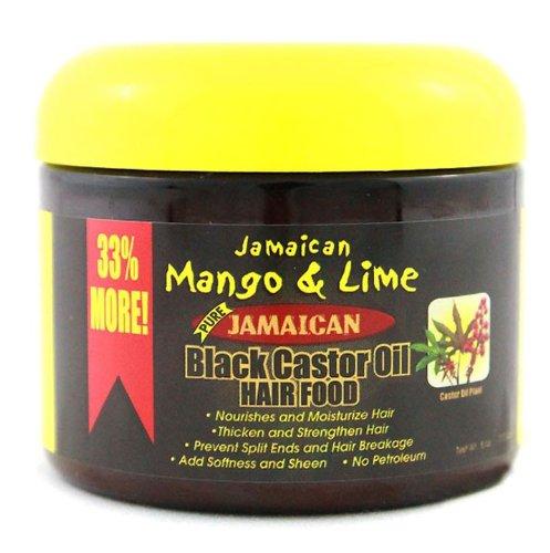 Jamaican Mango & Lime Black Castor Oil Hair Food 180ml