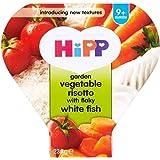 Hipp Jardin Légumes Risotto aux feuilletée White Fish (230g) -