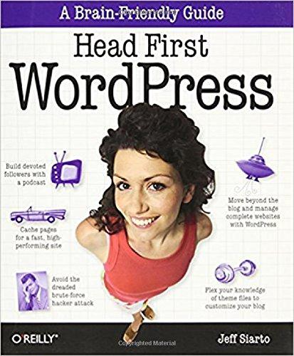 Head First WordPress por Jeff Siarto