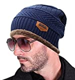 FABLOOK Casanova Series Imported Autumn Winter Cap Hat For Boys Men Gents Combed Wool Material With Fur Inside