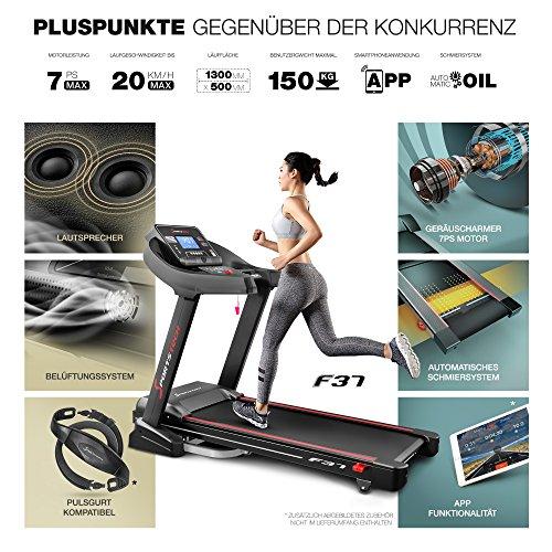 Sportstech F37 Profi Laufband - 5