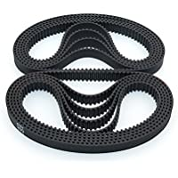 BIQU - Correa para impresora 3D (200 - 2 GT-6, cierre de goma, 200 mm de ancho, 6 mm)