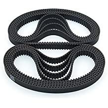 BIQU 3d impresora correa dentada 200–2GT-6circuito cerrado de goma cinturón 200mm de ancho 6mm