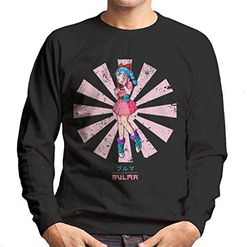 Bulma Retro Japanese Dragon Ball Z Men's Sweatshirt