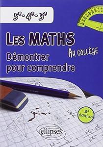 """Afficher """"Les maths au collège"""""""