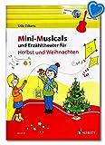 Mini Musicals & Erzähltheater pour l'automne et Noël pour guitare/Schott Music ED23137 9783795716820