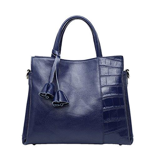 Mena UK-Femmes Nouveau Décontracté simple crocodile motif cuir artificiel occasionnels en cuir souple sac à main / épaule / Messenger Bag