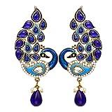 Peora Designer Peacock Earrings For Girl...