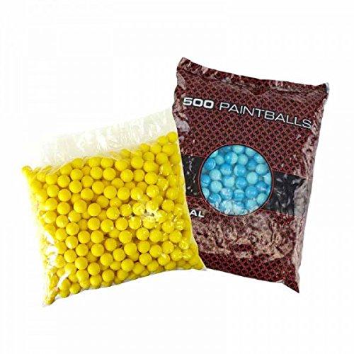 Mixed Paintballs, 500 Premium Paintball Kugeln