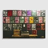 BIG Box Art Vinyl Records Poster Print, Mehrfarbig, Größe A1, 84,1x 59,4cm/33.1x 23.4-inch
