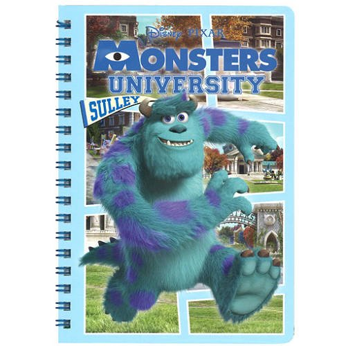 notebook-cancelleria-monsters-universit-anello-b-aig-925-japan-import