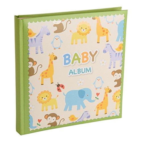 Kenro Baby Zoo Serie Grün Memo Album, um 120Fotos 15,2x 10,2cm/10x 15cm in Ein Andenken Box-kb301gn