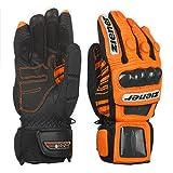 ZIENER Race glove Rennhandschuhe Handschuhe Leder Gage orange 750 DSV