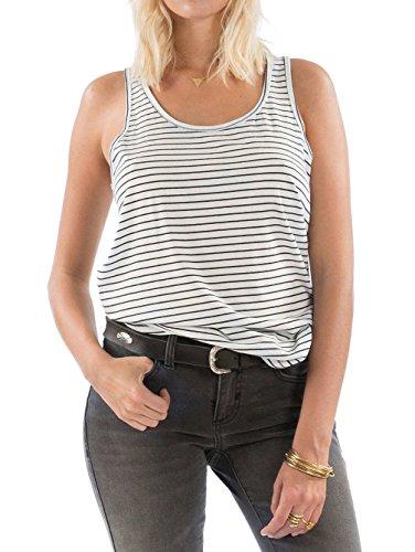 G.S.M. Europe - Billabong Damen Essential Tt T-Shirt Black/White