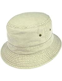 Packable Cotton Bucket Hat - Putty